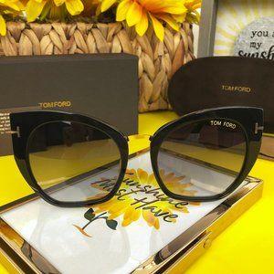 TOM FORD Sunglasses SAMANTHA-02 TF 553 001   Black